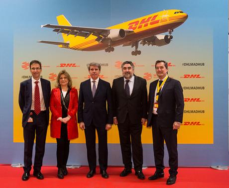 Inauguración hub DHL