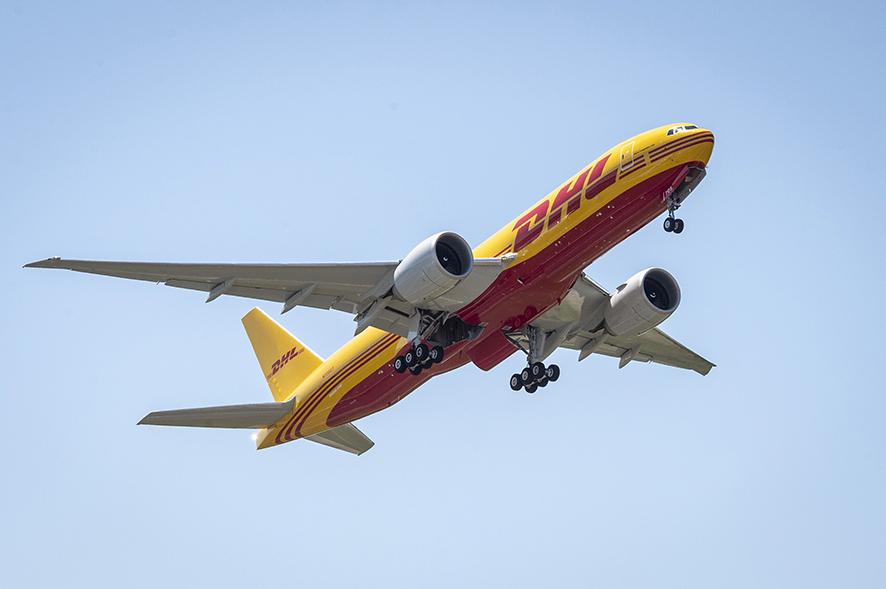 Boeing de DHL Express