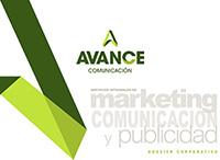 Dossier Corporativo Avance Comunicación