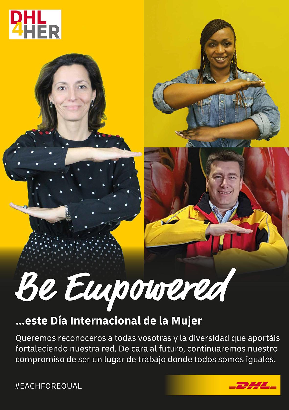 Programa de igualdad DHL4HER de DHL