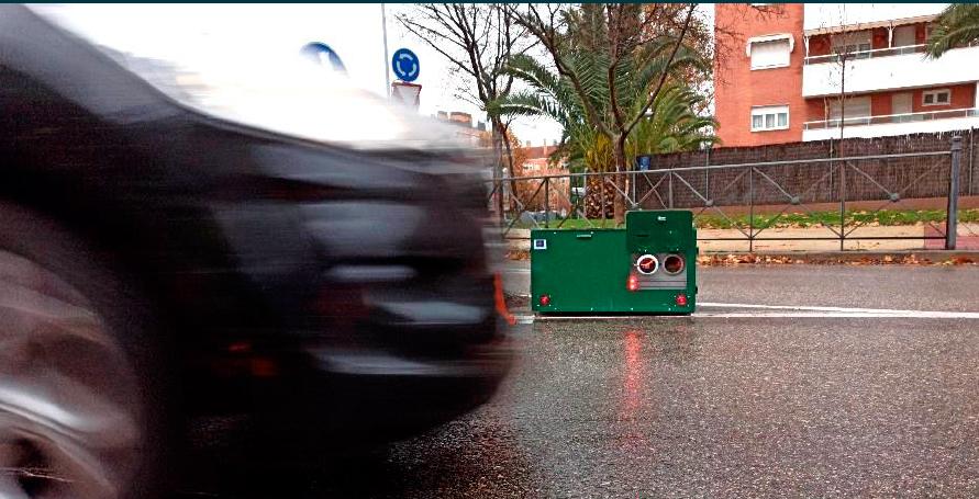 Medición de emisiones del tráfico en tiempo real