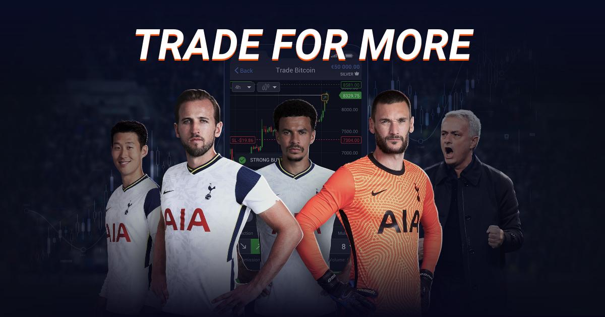 Libertex patrocina al Tottenham